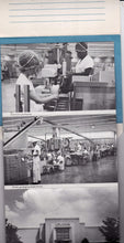 Load image into Gallery viewer, Upjohn Factory 1960's Tour Souvenir Folder 16 Views Kalamazoo Michigan