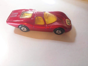 Lesney Matchbox No 45 Ford Group 6 Superfast Wheels Diecast 1970 England