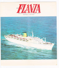 Load image into Gallery viewer, Costa Line ss Flavia 1974 Nassau Freeport Cruise Brochure