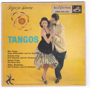 Tangos 45rpm RCA Victor EPA-646 1955 Perfect for Dancing Fred Astaire Studios