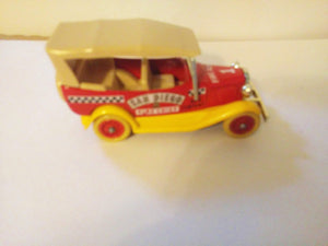 Lledo Days Gone DG14 1934 Ford Model A Car with Hood San Diego Fire Chief Made in England 1985
