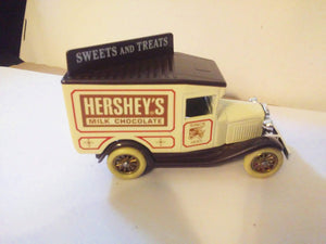 Lledo Hartoy DG13 Hershey's Milk Chocolate 1934 Ford Model A Van Made in England - TulipStuff
