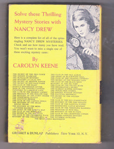 The Mystery At Lilac Inn Nancy Drew Mystery Stories Carolyn Keene Hardcover Book 1961 - TulipStuff
