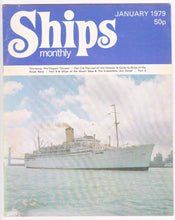 Load image into Gallery viewer, Ships Monthly Magazine January 1979 P&O Chusan  Royal Navy HMS Ark Royal  Ship Sales