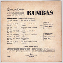 Load image into Gallery viewer, Rumbas 45rpm RCA Victor EPA-648 1955 Perfect for Dancing Fred Astaire Studios