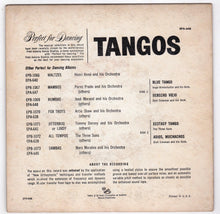 Load image into Gallery viewer, Tangos 45rpm RCA Victor EPA-646 1955 Perfect for Dancing Fred Astaire Studios - TulipStuff