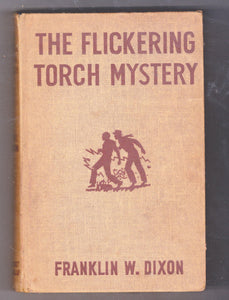 The Hardy Boys Mystery Stories The Flickering Torch Mystery Franklin W Dixon 1943 Hardcover - TulipStuff