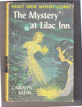 Load image into Gallery viewer, The Mystery At Lilac Inn Nancy Drew Mystery Stories Carolyn Keene Hardcover Book 1961 - TulipStuff