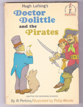 Load image into Gallery viewer, Doctor Dolittle and the Pirates 1968 Children's Book Hugh Lofting Beginner Books