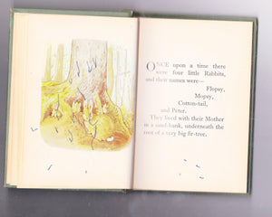 The Tale of Peter Rabbit Beatrix Potter Early US Printing Ord Edn 7232 0592 2 Lib Edn 7232 0615 5