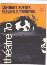 Load image into Gallery viewer, Current Events Octobre A Montreal Magazine October 1970 The Laurentien Hotel