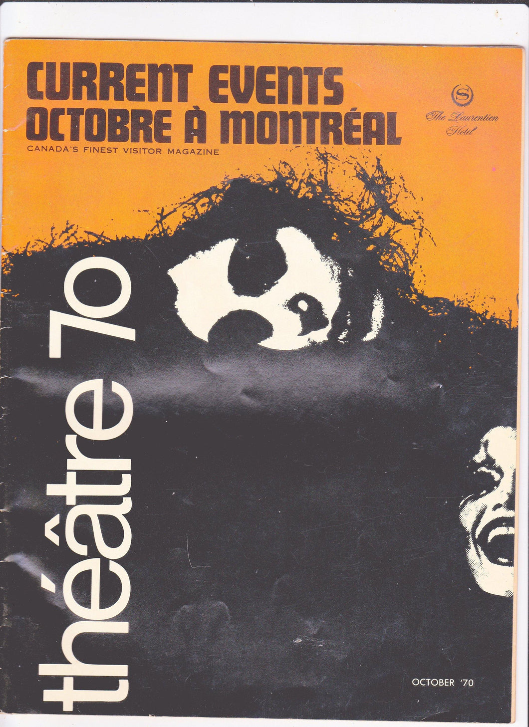 Current Events Octobre A Montreal Magazine October 1970 The Laurentien Hotel