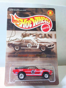 Hot Wheels 27247 Parnelli Jones Ford Mustang Mach 1 Limited Edition Full Grid Racing Series 2000