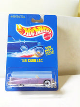 Load image into Gallery viewer, Hot Wheels Collector #266 '59 Cadillac Eldorado Diecast Car Whitewall Tires 1991