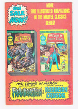 Load image into Gallery viewer, Marvel Classics Comics The Count of Monte Cristo Alexandre Dumas 1977