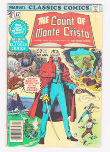 Marvel Classics Comics The Count of Monte Cristo Alexandre Dumas 1977