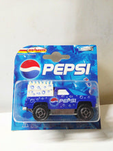 Load image into Gallery viewer, Majorette 291 Pepsi Cola Series Chevy Blazer Pickup 4x4 Diecast Truck 2000