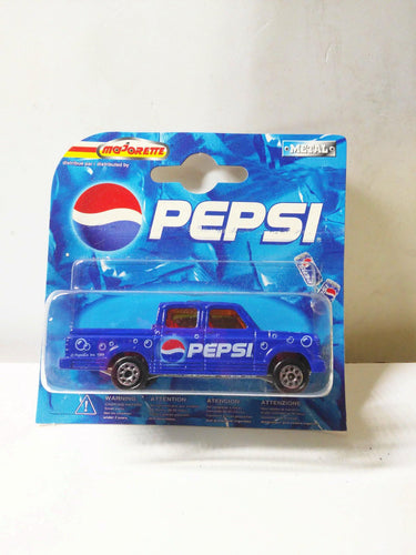 Majorette 217 Pepsi Cola Series Chevrolet Pick Up Truck Quad Cab Diecast 2000 - TulipStuff