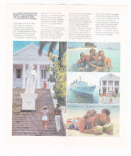 Load image into Gallery viewer, Eastern Cruise Lines ss Emerald Seas 1981-1982 Bahamas Cruises Brochure