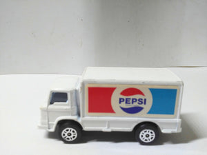 Corgi Juniors 87-B Pepsi Leyland Terrier Delivery Van 1975 Great Britain Diecast Truck