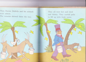 Doctor Dolittle and the Pirates 1968 Children's Book Hugh Lofting Beginner Books