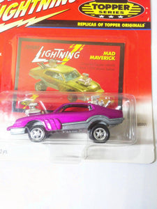 Johnny Lightning Topper Series Mad Maverick Diecast Metal Vintage Car 2000