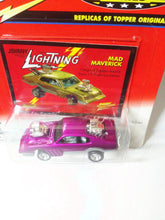Load image into Gallery viewer, Johnny Lightning Topper Series Mad Maverick Diecast Metal Vintage Car 2000