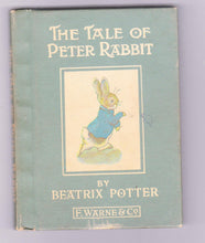 Load image into Gallery viewer, The Tale of Peter Rabbit Beatrix Potter Early US Printing Ord Edn 7232 0592 2 Lib Edn 7232 0615 5