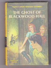 Load image into Gallery viewer, The Ghost of Blackwood Hall Nancy Drew Mystery Stories Carolyn Keene Hardcover Book 1971 - TulipStuff