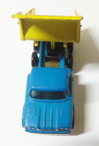 Lesney Matchbox no. 48 Dodge Dump Truck Superfast Made in England 1969