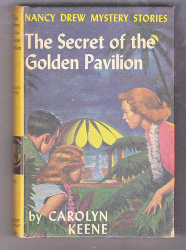 The Secret of the Golden Pavilion Nancy Drew Mystery Stories Carolyn Keene Hardcover Book 1959 - TulipStuff