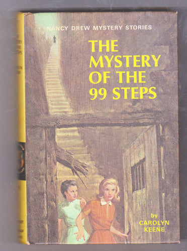 The Mystery Of The 99 Steps Nancy Drew Mystery Stories Carolyn Keene Hardcover Book 1966 - TulipStuff