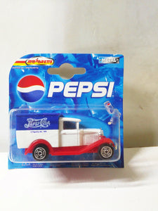 Majorette 201 Pepsi Cola Series Ford Model A Diecast Van 2000