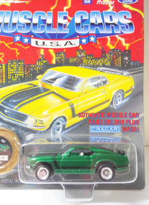 Johnny Lightning Muscle Cars USA 1970 Ford Mustang Boss 302 Limited Edition Made in 1995