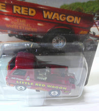 Load image into Gallery viewer, Johnny Lightning Showstoppers Bill Maverick Golden's Little Red Wagon Wheelstander Picjup 1997