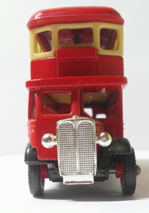 Lledo Days Gone DG15 1932 AEC Regent Double Deck Bus Diecast Coca Cola Chicago Transit Made In England