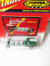 Load image into Gallery viewer, Johnny Lightning Topper Series Flame Out Fire Engine Diecast Metal Toy 2000 - TulipStuff
