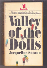 Load image into Gallery viewer, Valley of the Dolls Jacqueline Susann 1967 Bantam Paperback Vintage Book - TulipStuff