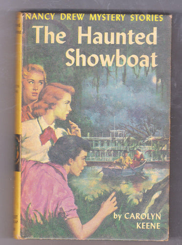 The Haunted Showboat Nancy Drew Mystery Stories Carolyn Keene Hardcover Book 1957 - TulipStuff
