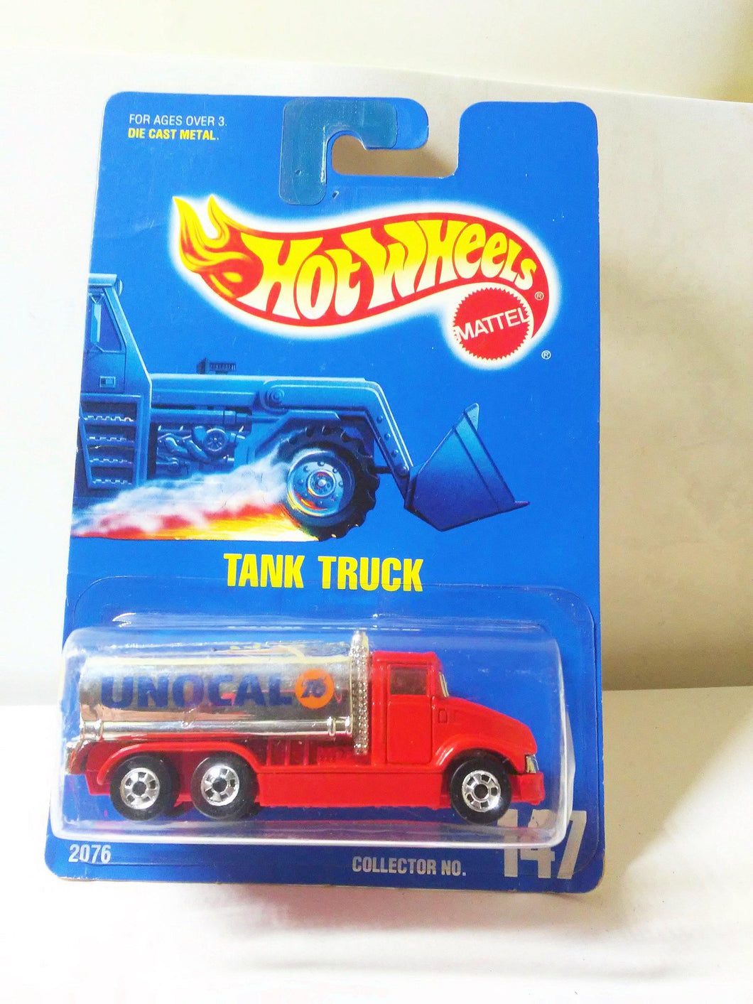 Hot Wheels Collector #147 Unocal 76 Tank Truck Vintage Diecast Toy 1992