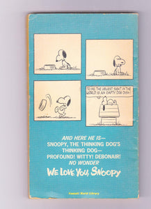 We Love You Snoopy Peanuts Charles M Schulz 1962 Printing Fawcett Crest Paperback