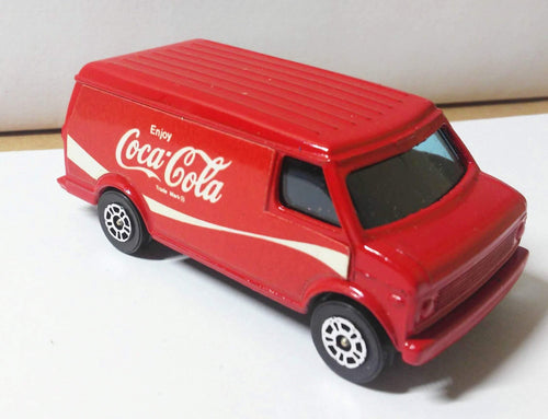 Corgi Juniors 36 Coca Cola Chevrolet Delivery Van Made in Great Britain 1979 - TulipStuff