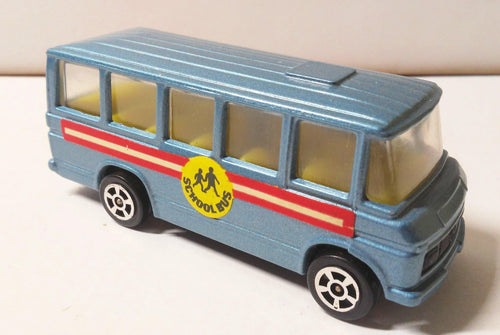 Corgi Juniors 15-C Mercedes-Benz School Bus Made in Great Britain 1973 - TulipStuff