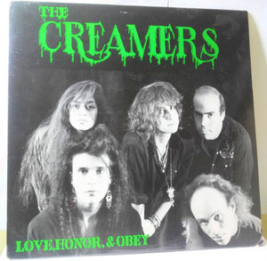 The Creamers Love Honor and Obey Vinyl LP 1989 Sympathy for the Record Industry LA Female Punk - TulipStuff