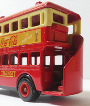 Load image into Gallery viewer, Lledo Days Gone DG15 1932 AEC Regent Double Deck Bus Diecast Coca Cola Chicago Transit Made In England