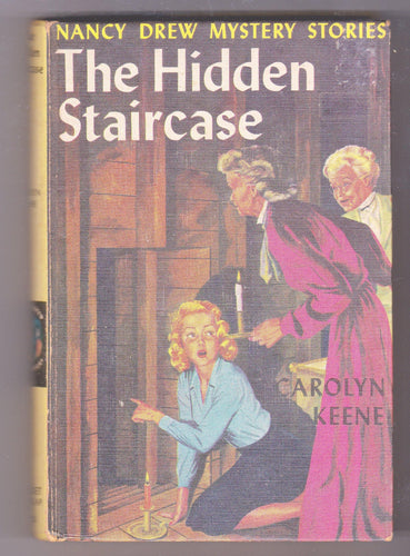 The Hidden Staircase Nancy Drew Mystery Stories Carolyn Keene Hardcover Book 1959 - TulipStuff