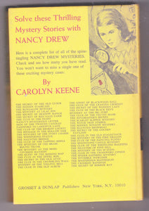 The Secret of Mirror Bay Nancy Drew Mystery Stories Carolyn Keene Hardcover Book 1972 - TulipStuff