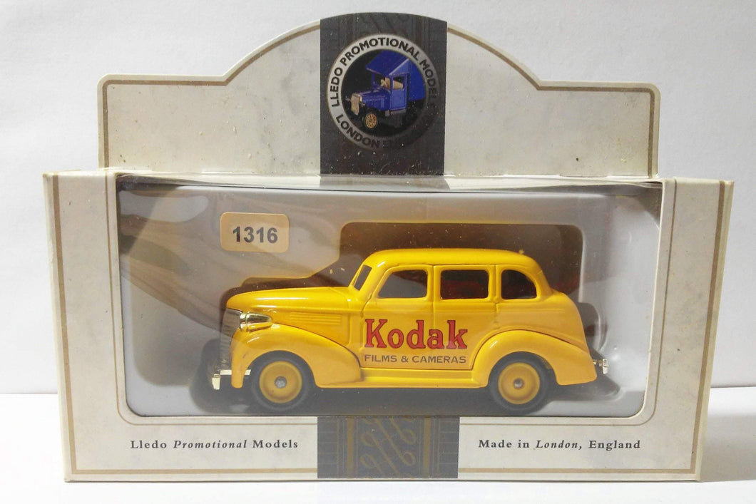 Lledo Promotional LP48 Kodak 1939 Chevrolet Car Made In England