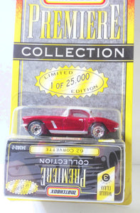 Matchbox Premiere Collection'62 Corvette Chevy Limited Edition 1995 - TulipStuff