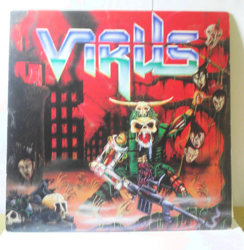 Virus Force Recon 12 inch Vinyl LP 1988 Combat 88561-8228-1 Thrash Metal - TulipStuff